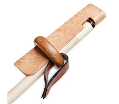 Фиксатор для наклейки деревянный