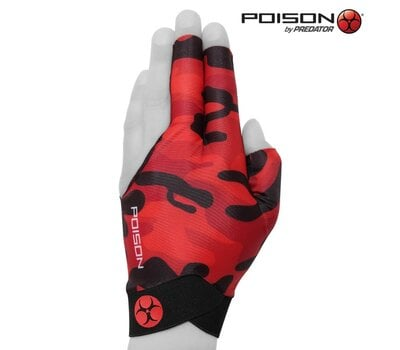 Перчатка Poison Camo Red S/M