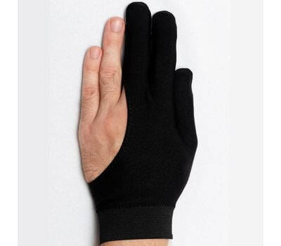 Перчатка Skiba со вставкой замши