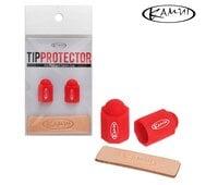 Набор для защиты бильярдной наклейки Kamui Tip Protector + Tip Burnisher ø11.75-14мм Red